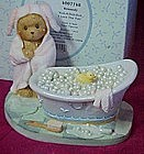 Cherished Teddies Kennedy, Rub-A-Dub-Dub figurine