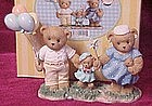 Cherished Teddies, John Emily and Katie # CT0072