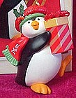 2003 Hallmark keepsake ornament Mom, penguin MIB