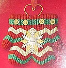 Hallmark Keepsake tree clip, mittens with snowflake