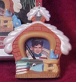 Hallmark keepsake ornament, #1 Student photo holder