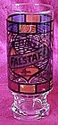 Falstaff Beer glass, Stained glass tiffany style