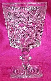 "Imperial Cape Cod 5 3/8"" tall stemmed water glass"