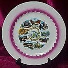 Scenic souvenir plate of Colorful Colorado