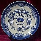 Vintage Alaska state souvenir plate