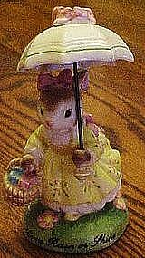 Avon Cherished Moments bunny, Come rain or shine