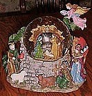 Huge Nativity musical snow globe, BEAUTIFUL!!!