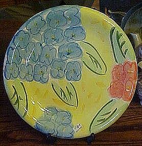 Bella Ceramics, flora pattern dinner plate
