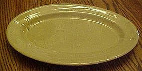 "Large tan Tepco 13 1/2"" restaurant platter"