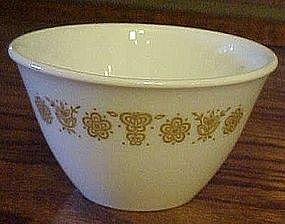 Corelle open sugar, Butterfly Gold pattern