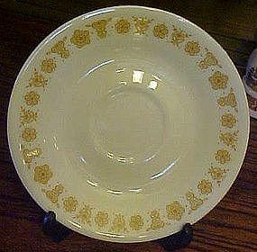 Corelle Butterfly gold saucer