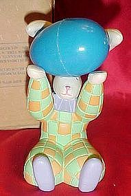Avon Easter Egg holder,  bunny, boxed