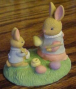 Avon Forest Friends, Easter fun rabbit figurine