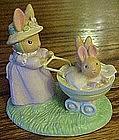 Avon Forest Friends, Springtime stroll, bunny figurine