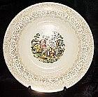 Royal China Colonial Gold round vegetable bowl