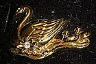 Avon Swan pin