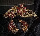 Avon Festive Treasure Poinsettia garland, pin