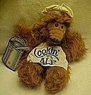 Cookin' with Alf plush puppet,1988 Burger King, w/ tags