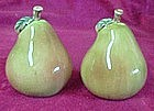 Pear, salt and pepper shakers