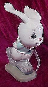 Precious Moments rollerblade bunny rabbit, outdoor