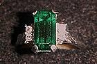 Vintage 1976  Park East Avon Ring, Emerald stone