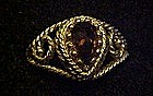 Vintage 1976 Smoke Blaze ring by Avon
