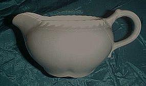 Harker Pottery Chesterton Ware, grey creamer
