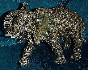 Large resin elephant figurine