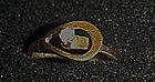 Vintage Avon Catch a star,single rhinestone ring. 1977