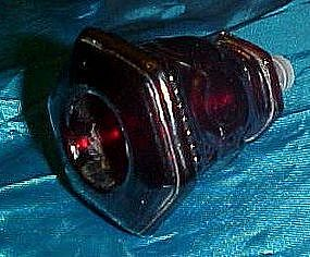 Replacement stopper for Avon red Cape cod candlestick