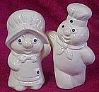 Pillsbury Poppin Fresh and Poppy hug  s