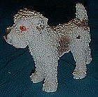 Old spaghitti / coleslaw airedale / terrier  figurine