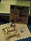 Avon Smithsonain toy horse pin by Avon