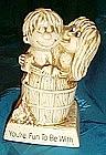 Russ Berries sillisculpt figure,