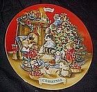 Avon annual Christmas plate, 1992 Sharing Christmas....