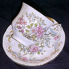 Royal Standard bone china cup and saucer, Mandarin