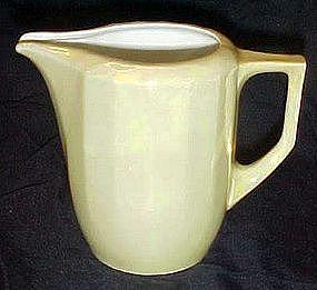 Vintage yellow lustreware pitcher, Eleanor, Germany