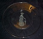 Avon Fostoria Represenative's plate 1971