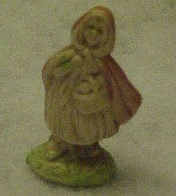 Wade Whimsies, Nursery Rhymes, Little Red Riding Hood