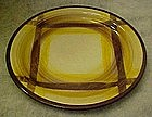 Vernonware Organdie plaid bread /butter plate