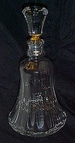Beautiful lead crystal liquor decanter