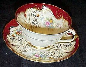 Tuscan fine china fancy cup and saucer set