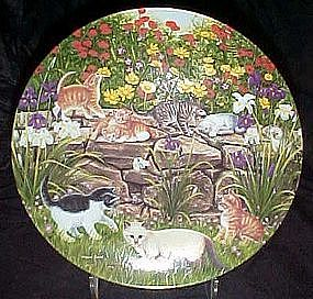 Flower Fanciers plate, Higgins Bond, Garden Secrets