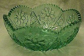TIara sea mist daisy pressed pattern 7 1/2