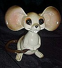 Vintage Norcrest  ceramic Mouse  nodder / bobblehead