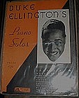 Vintage Duke Ellington Piano Solos book / folio 1931
