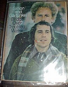 Simon and Garfunkel Bridge over troubled water book
