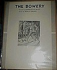 The Bowery,sheet music by Charles Hoyt