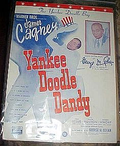The Yankee Doodle boy,  music James Cagney 1933