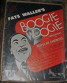 Fats Waller Boogie Woogie Conceptions of popular Favori